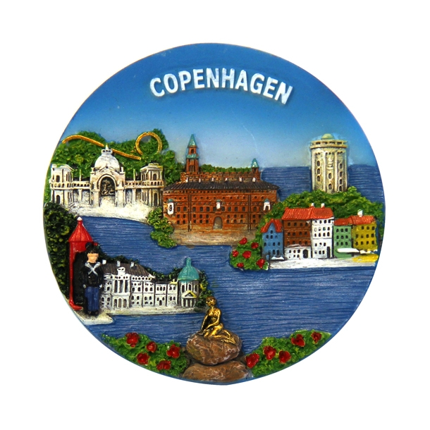 Magnet Copenhagen Rund