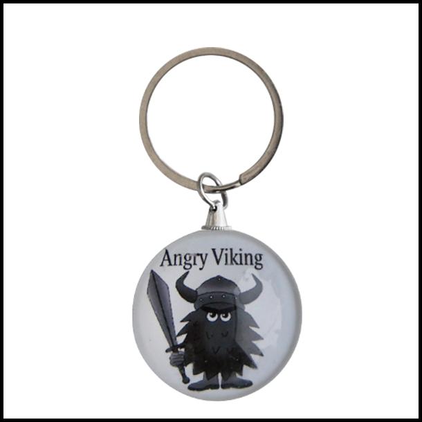 Nøglering Angry Viking Rund