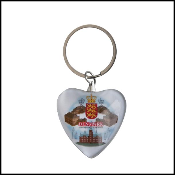 Nøglering Royal Hjerte