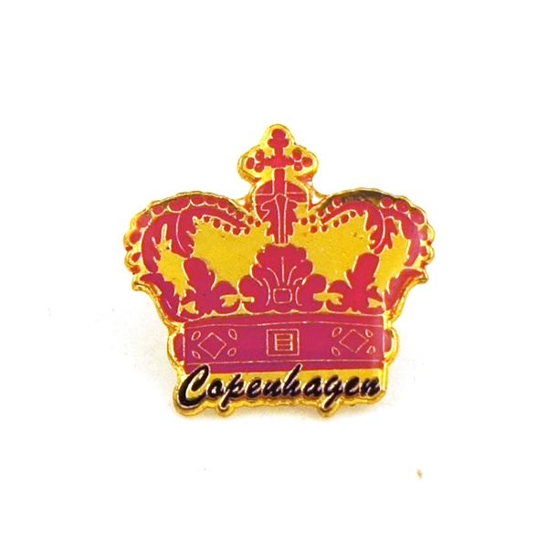 Pin Pink Krone