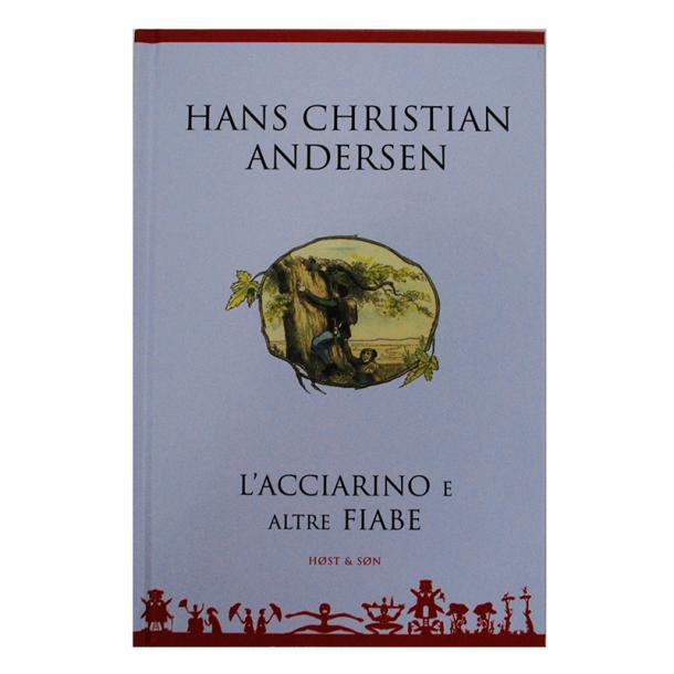 Bog H.C. Andersen Eventyr Italiensk