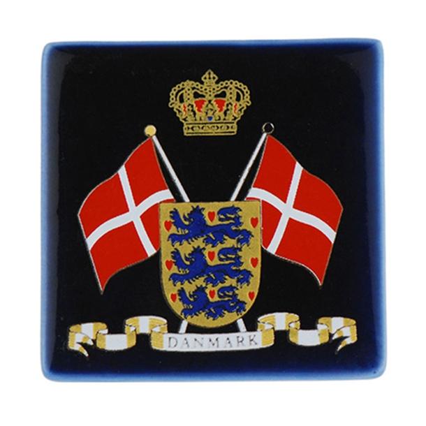 Magnet Flag Og Rigsvåben Marine