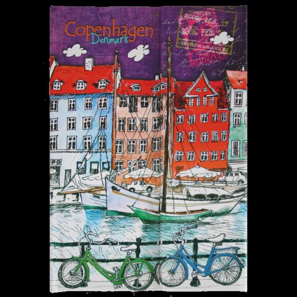 Notesbog Nyhavn Cykler Mini