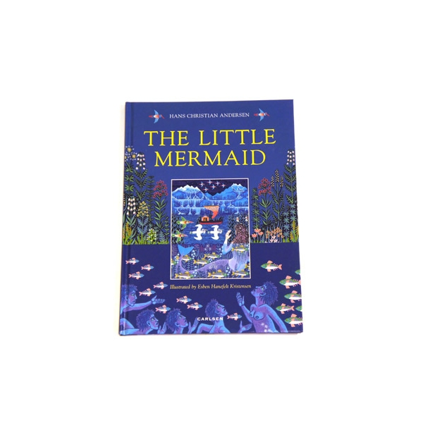 Bog H.C. Andersen Den Lille Havfrue Engelsk Original Version