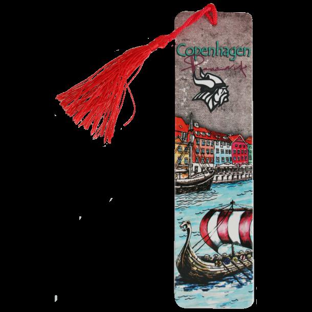 Bogmærke Nyhavn Vikingeskib