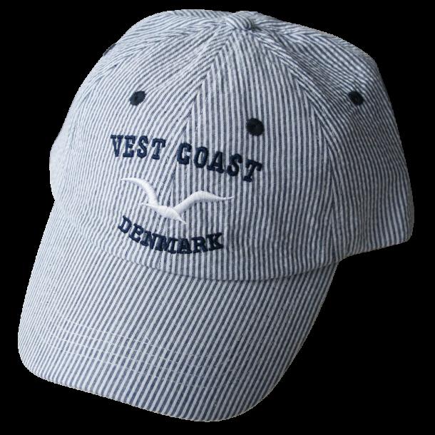 Kasket Vest Coast Blå