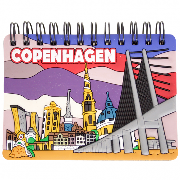 Notesbog Copenhagen skyline