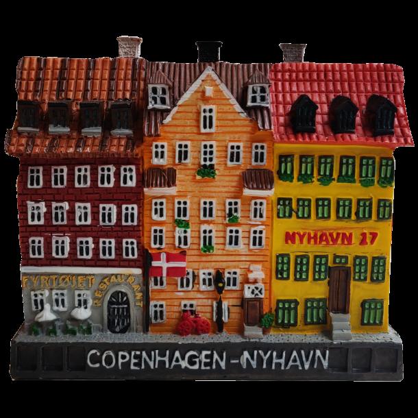 Figur Miniature Nyhavn 17 Og Fyrtøjet