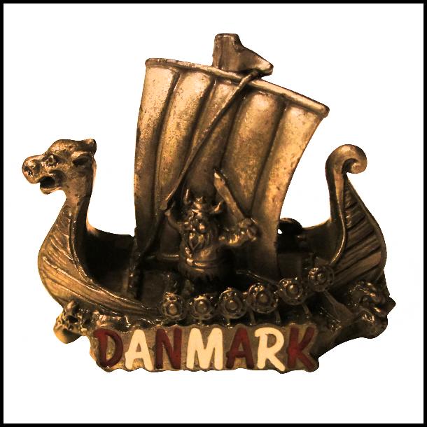 Figur Vikingeskib Danmark