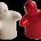 Salt Og Peber Rød Og Hvid