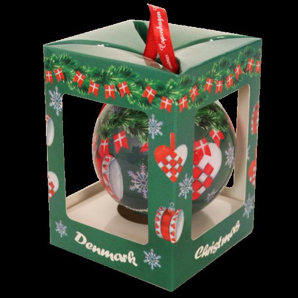 Juleophæng Trommer Og Hjerter