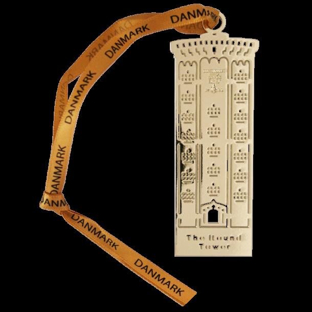 Bogmærke Rundetårn Guldmetal