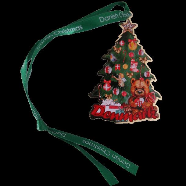 Juleophæng Juletræ Bamse