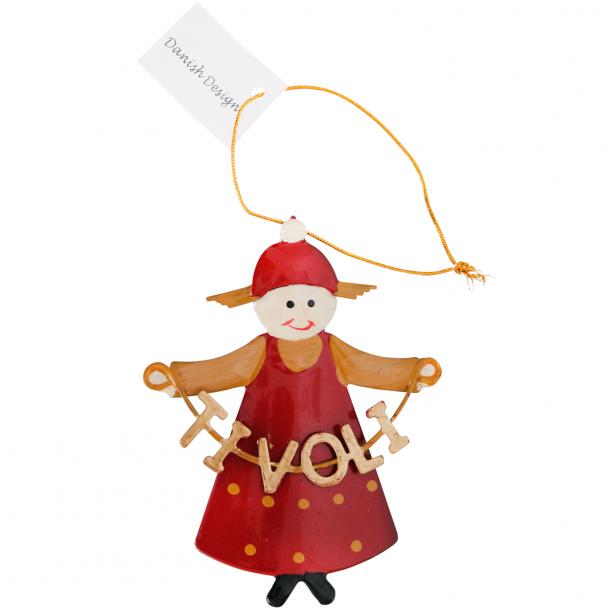 Juleophæng Nissepige Tivoli
