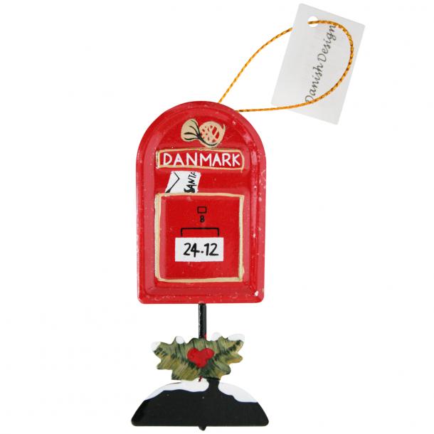 Juleophæng Postkasse