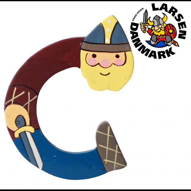 Træbogstav Viking C