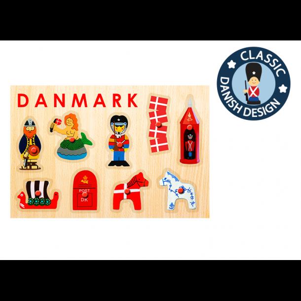 Puslespil Danske Figurer 9 Brikker