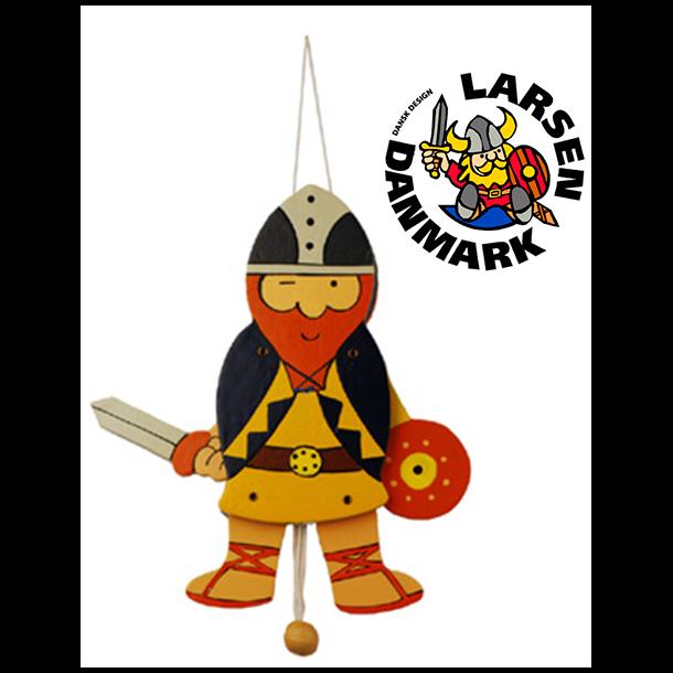 Sprællemand Viking Blå Stor