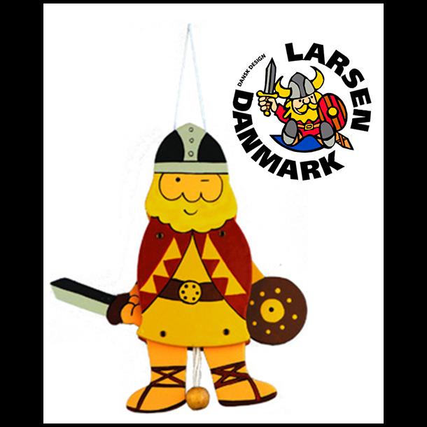 Sprællemand Viking Rød Stor