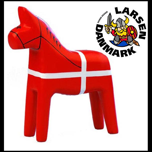 Træhest DK Flag Stor