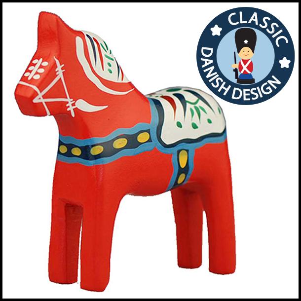 Figur Rød Hest Kæmpe