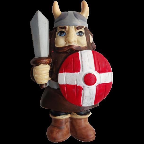 Magnet Viking Med Dansk Skjold