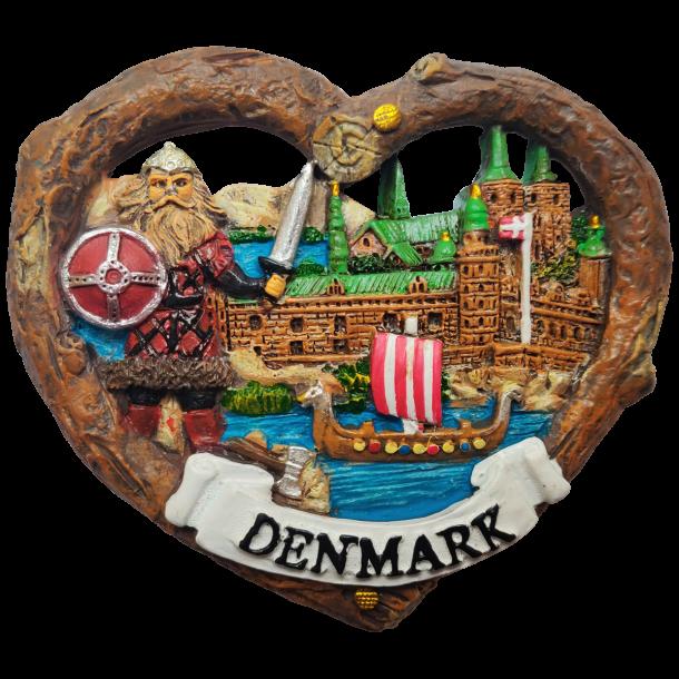 Magnet Viking Hjerte