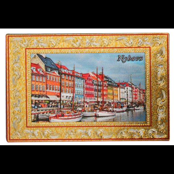 Reliefmagnet Nyhavn