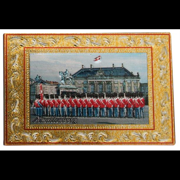Reliefmagnet Amalienborg