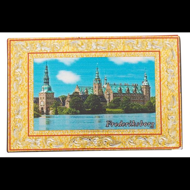 Reliefmagnet Frederiksborg Slot