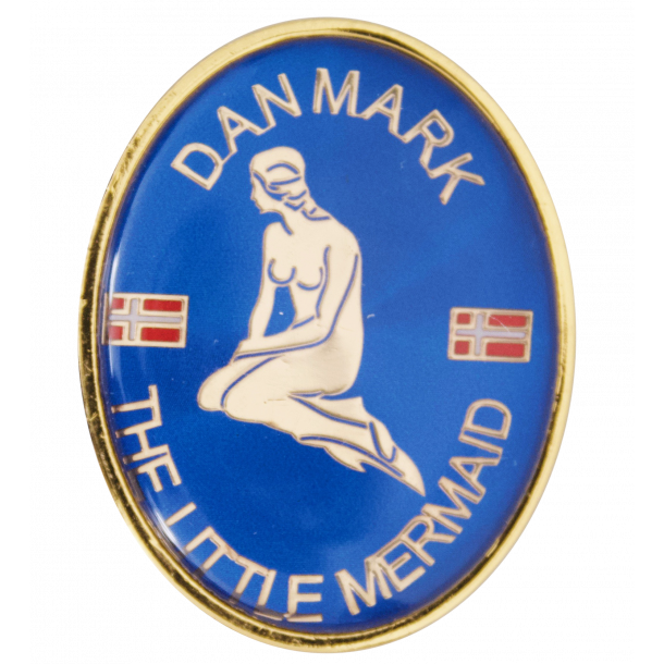 Magnet Havfrue Oval