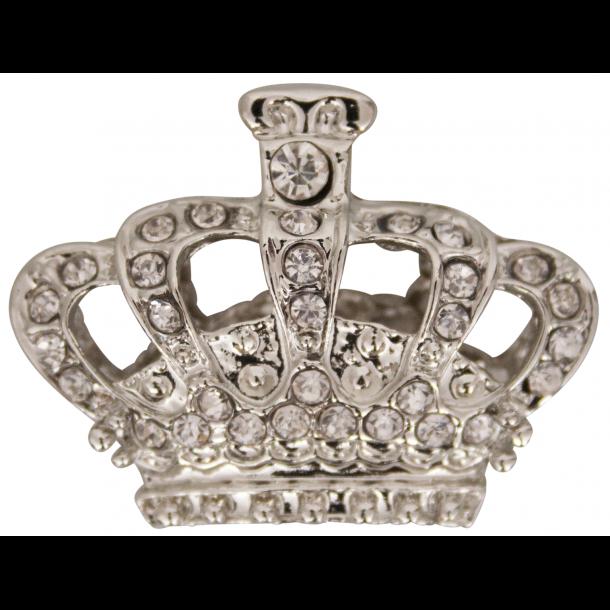 Magnet Krone Sølv