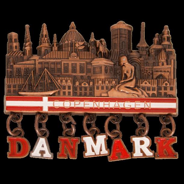 Magnet Københavns Tårne Danmark Bronze