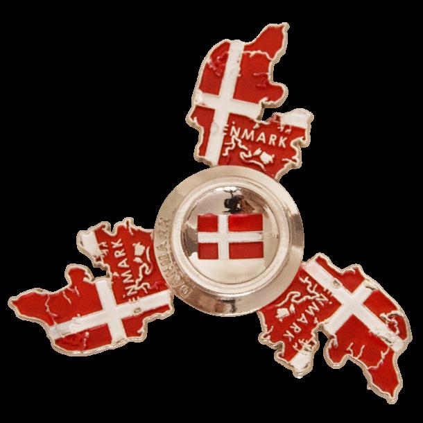 Magnet Danmarkskort Fidget Spinner