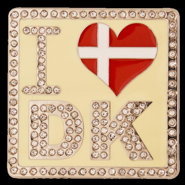 Magnet I Heart DK