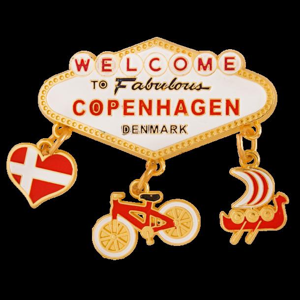 Magnet Fabulous Copenhagen Guld