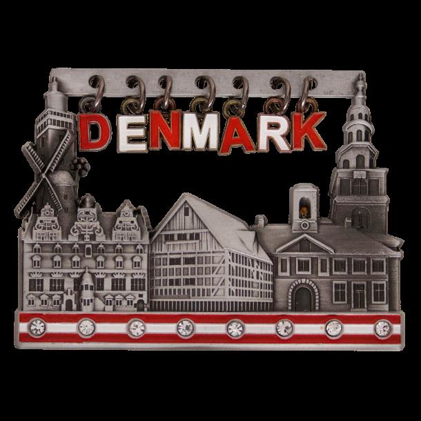 Magnet Denmark Vedhæng Tin