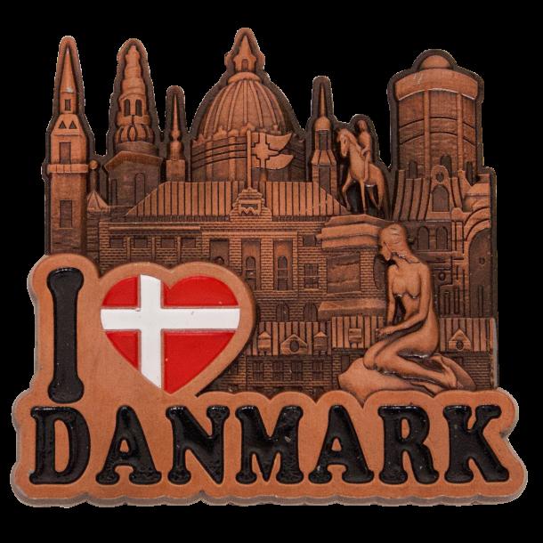 Magnet Københavns Tårne Bronze