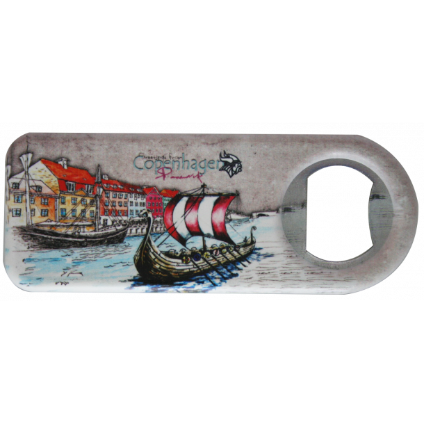 Magnet Og Oplukker Nyhavn Vikingeskib