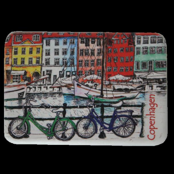 Magnet Nyhavn Cykler