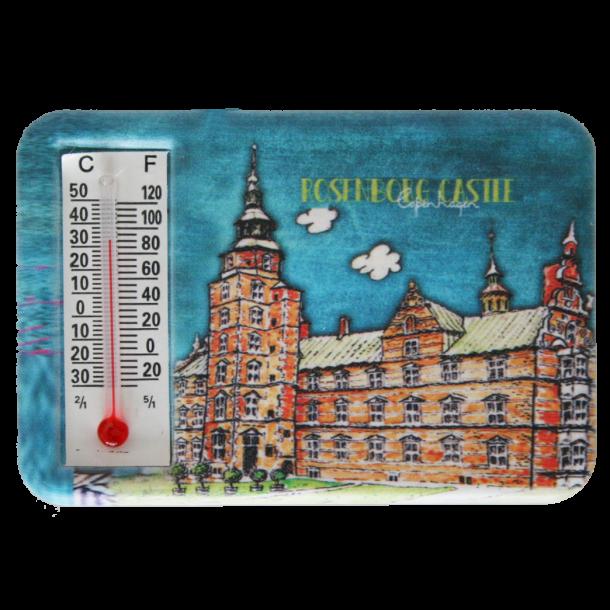 Magnet Med Termometer Rosenborg Slot