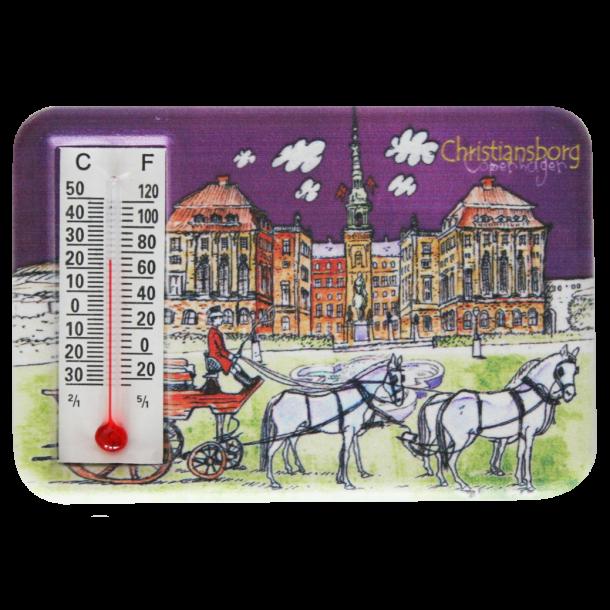 Magnet Med Termometer Christiansborg