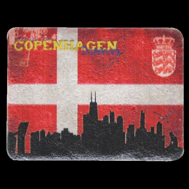 Magnet Flag Skyline Sten