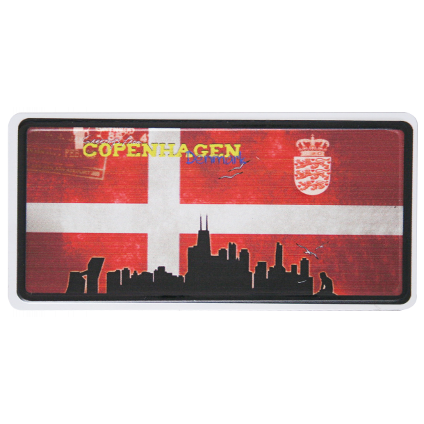 Magnet Flag Skyline