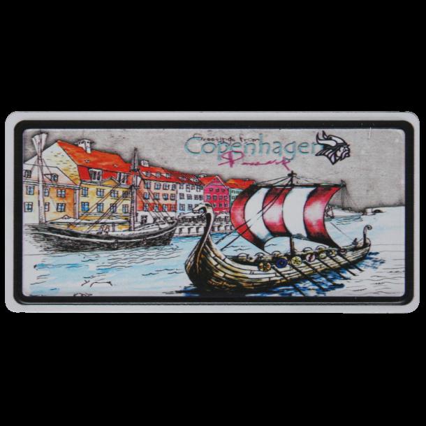 Magnet Nyhavn Vikingeskib
