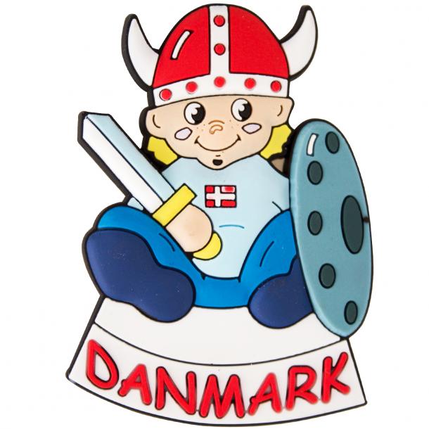 Manget Vikingedreng Gummi