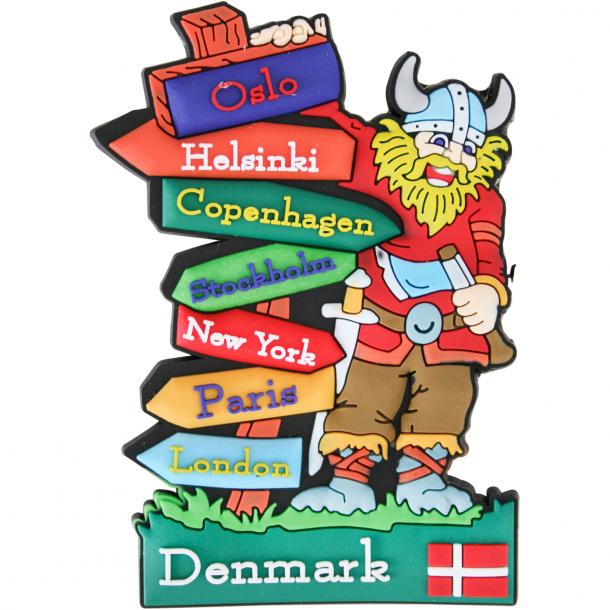Magnet Viking Skilte Gummi