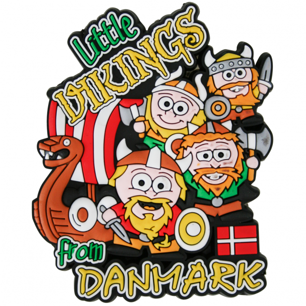 Magnet Little Vikings From Denmark