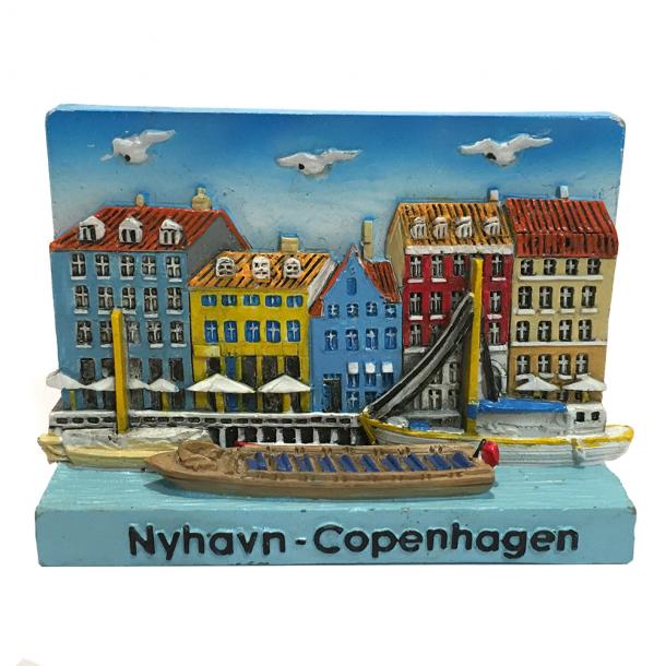 Magnet Nyhavn 3D