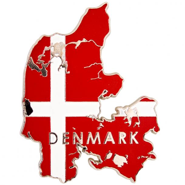 Magnet Danmark Og Flag